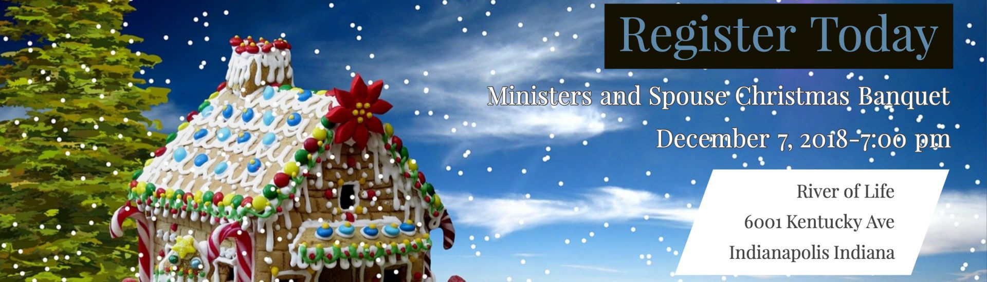 Ministers and Spouse Christmas Banquet